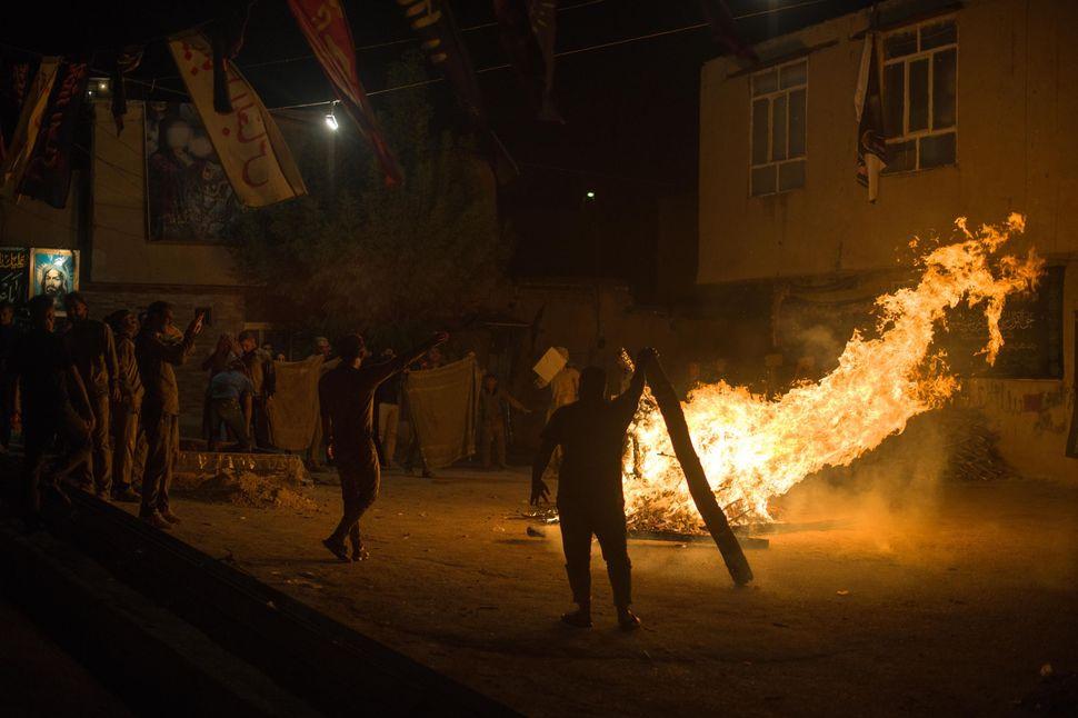 Bonfire, Khorramabad