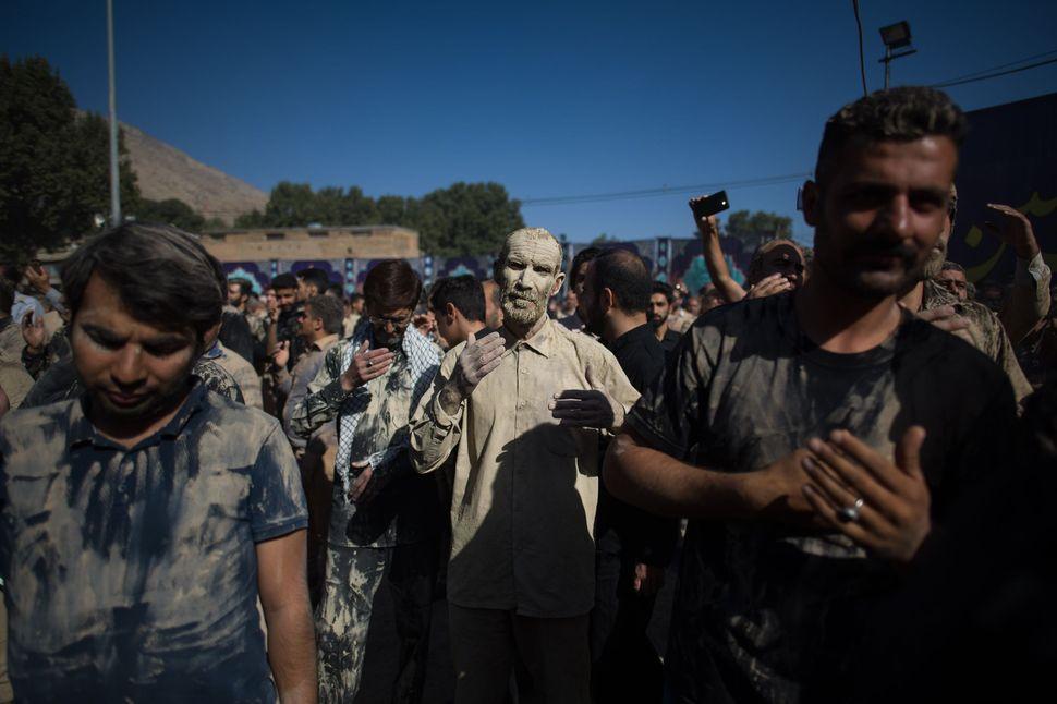 Collective chanting, Khorramabad