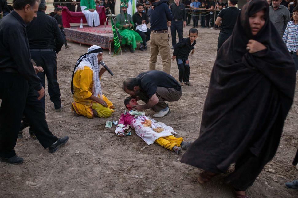 Death of Imam Hossein´s son