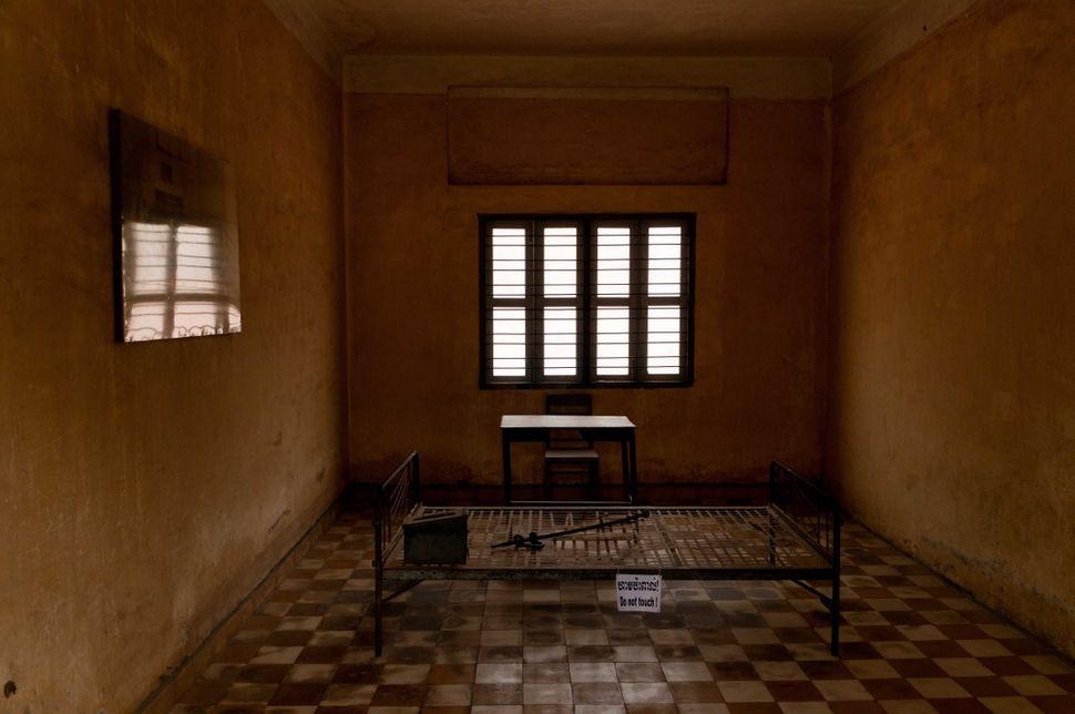 Tuol Sleng Genocide Museum - Interrogation cell