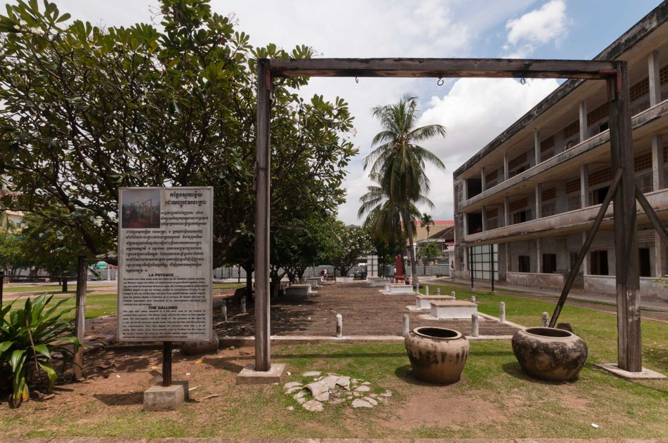 Tuol Sleng Genocide Museum - The Gallows