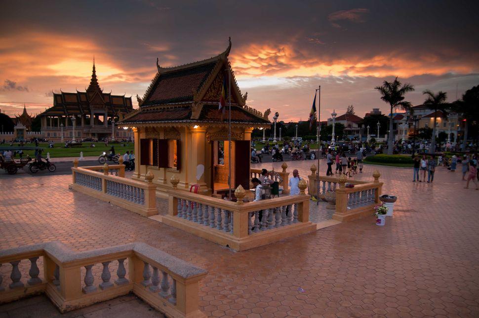 Phnom Penh sunset, 2
