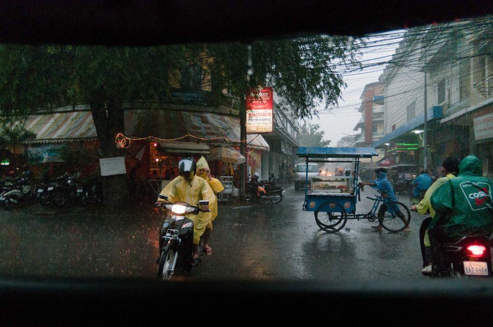 Rain in Phnom Penh
