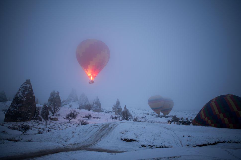 Cappadocia: Hot air balloon heaven