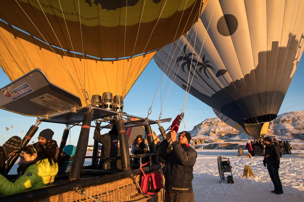 Cappadocia: Hot air balloon heaven