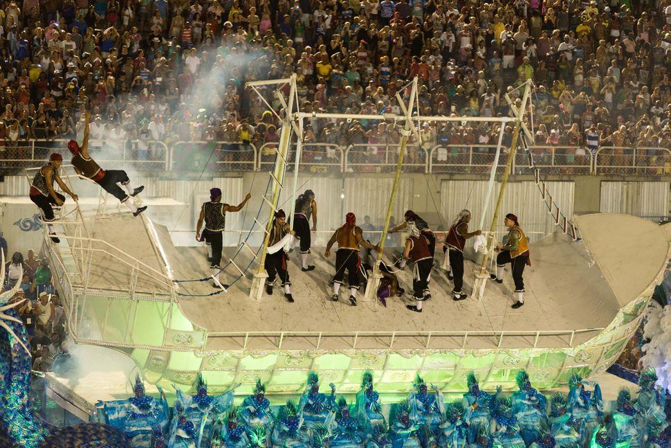 Carnaval carioca - The samba parade in Rio
