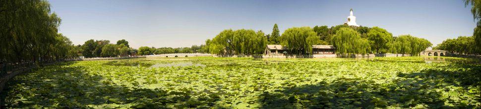 Beihai Park panorama