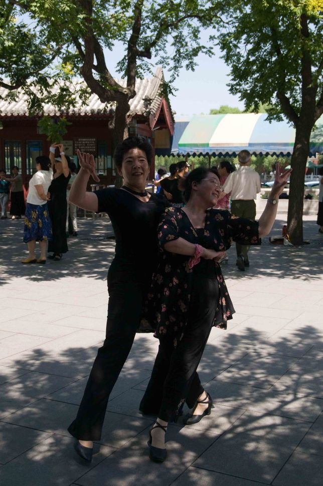 Beihai Park - Tango dancers 2