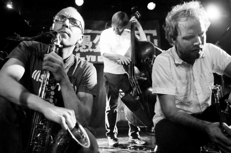 Norwegian jazz band MOTIF live in Beijing 1