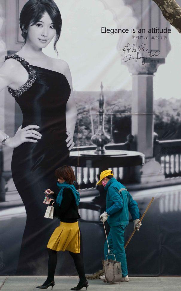 """Elegance is an attitude"", Shanghai"