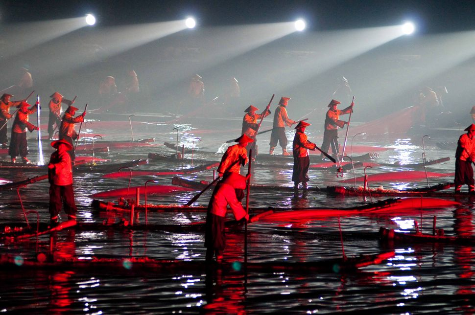 Zhang Yimou Light Show 2, Guilin