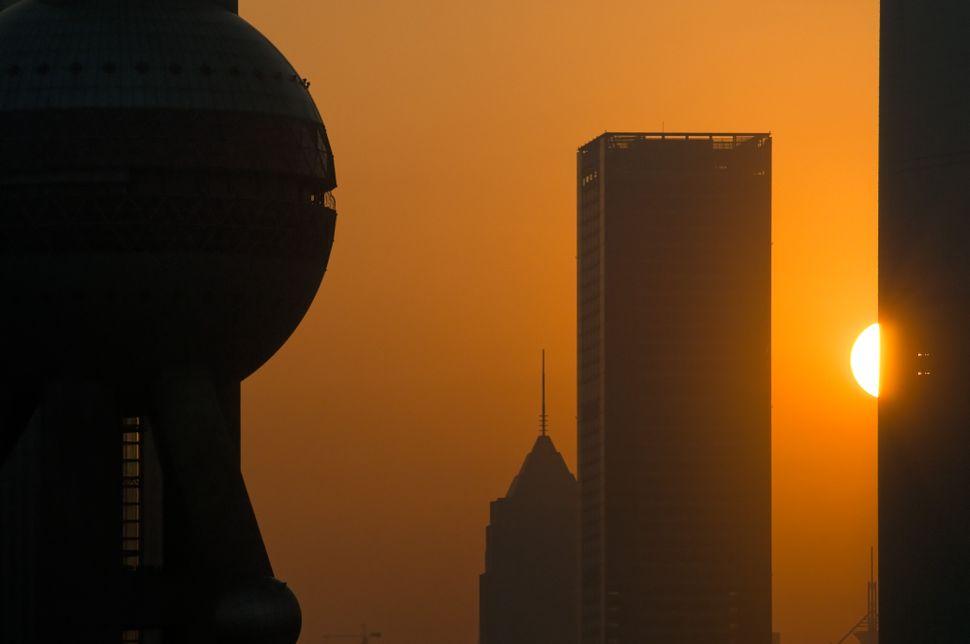 Pudong sunrise