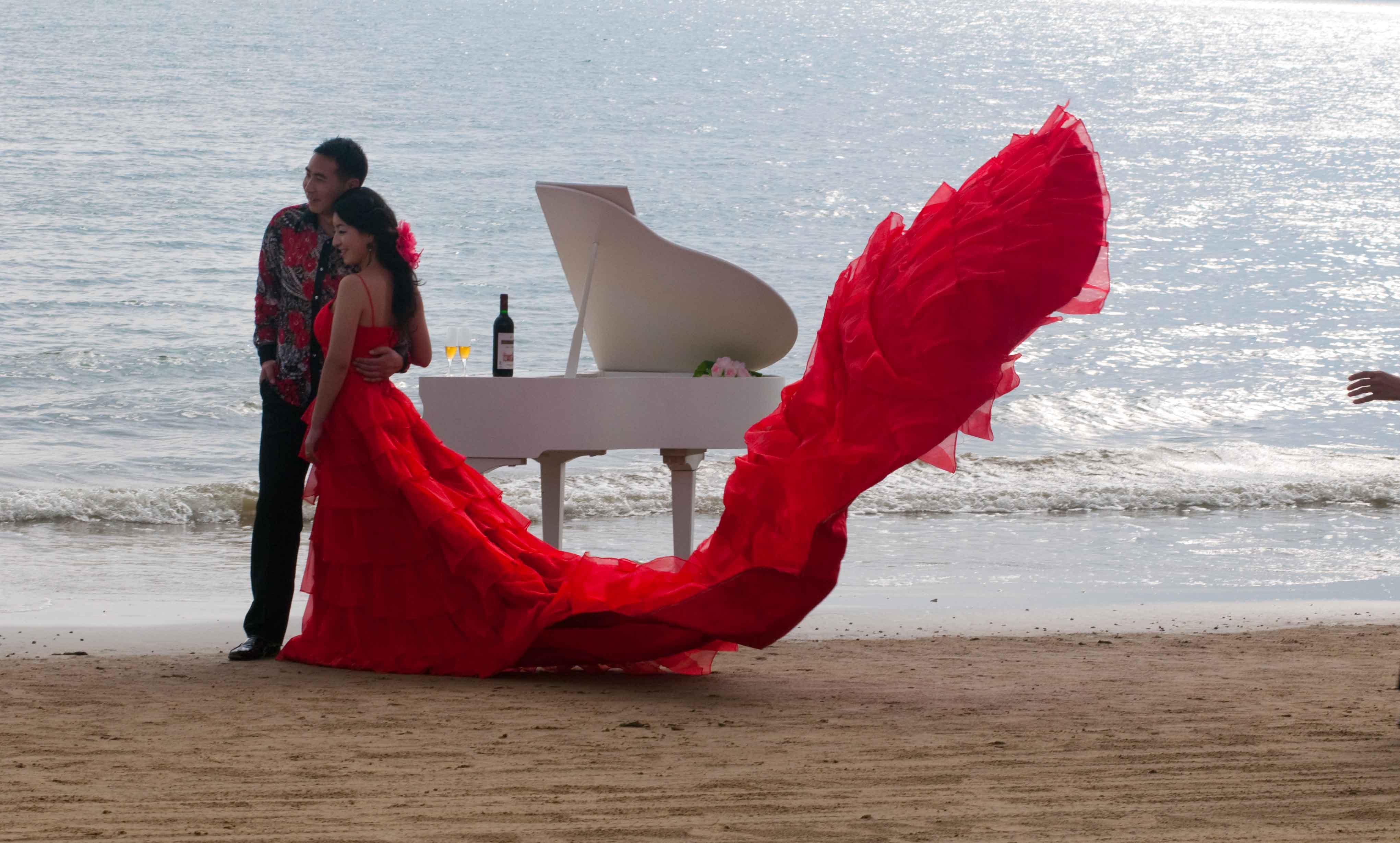 Guo chien wedding