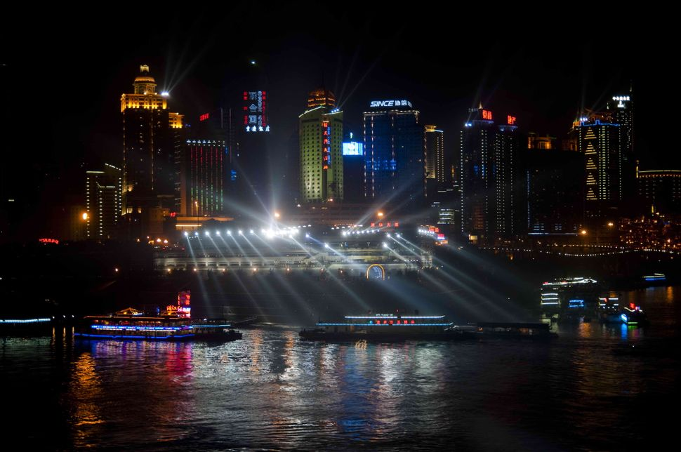 Night on the Yangtze