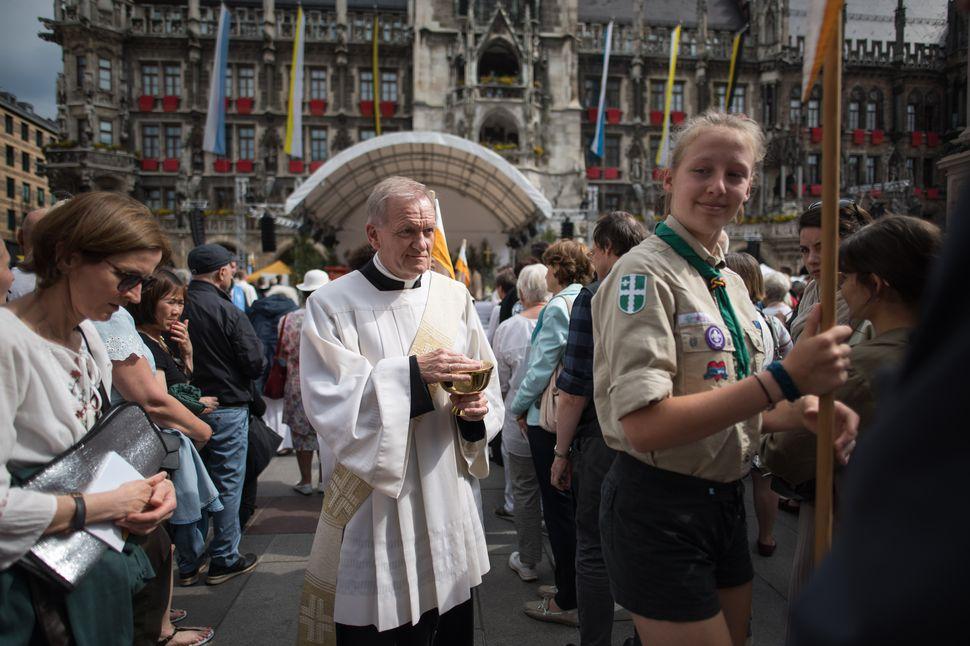 Corpus Christi/Fronleichnam in Munich 2019