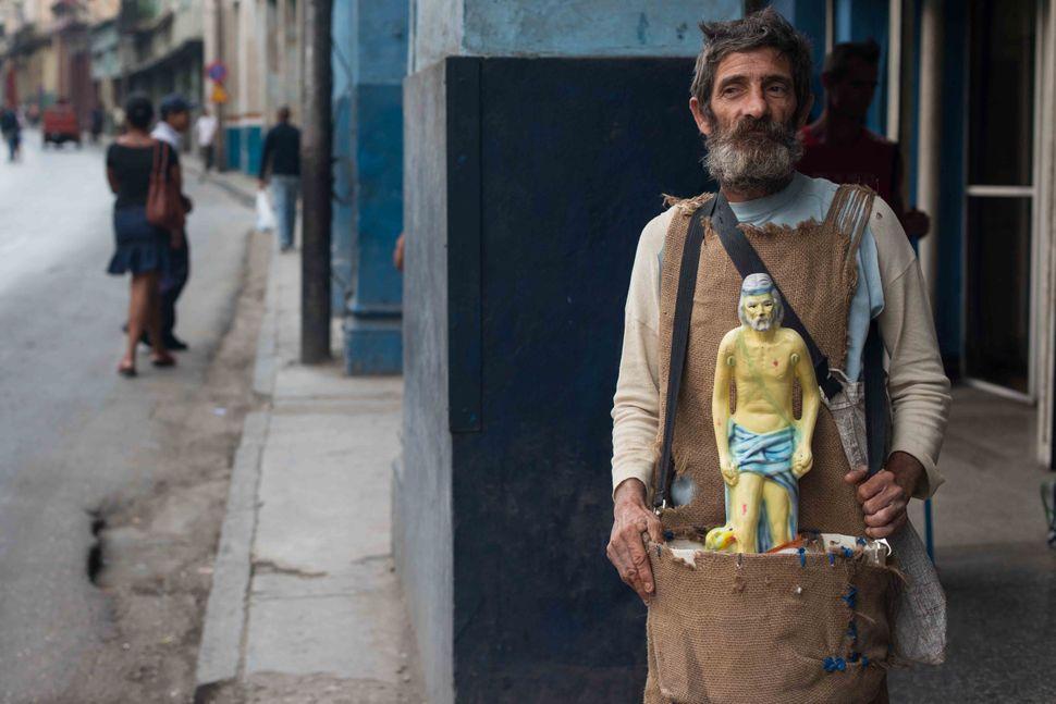 Havana beggar