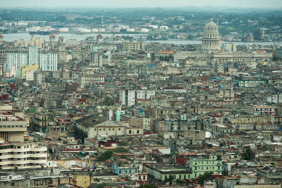 Havana seen from the Havana Libre hotel