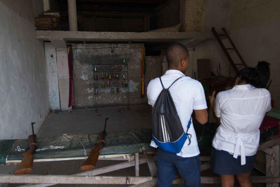 Havana shooting range, 2