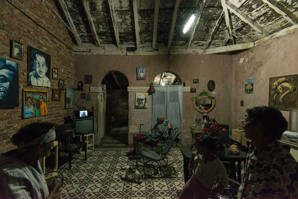 House interior, Trinidad