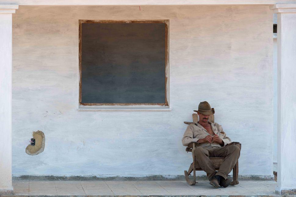 Tobacco farmer near Vinales