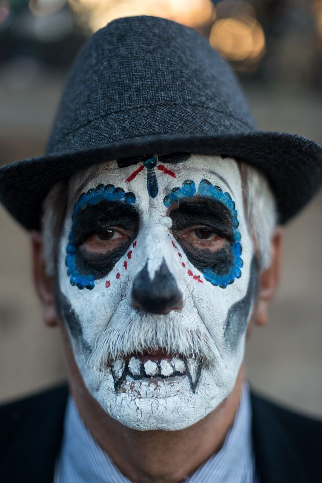 Man in a death mask, Guadalajara