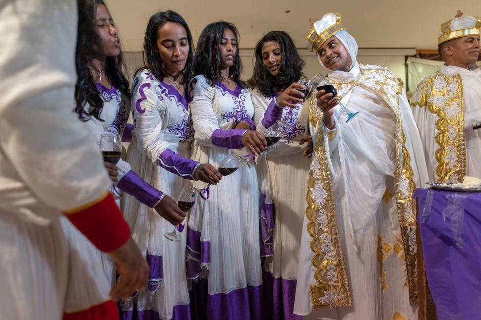 Ethiopian wedding in Cairo