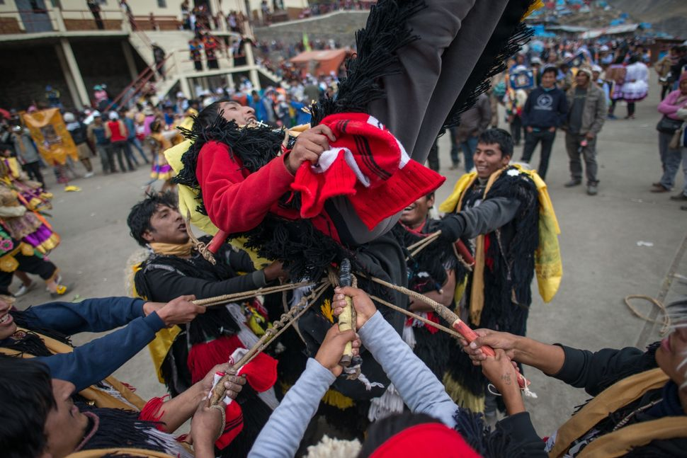 Fiesta del senor de Qollyur Rit´i, May 2016