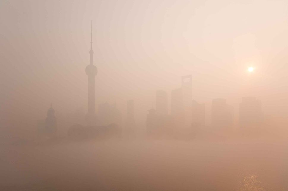 Pudong in the fog 2