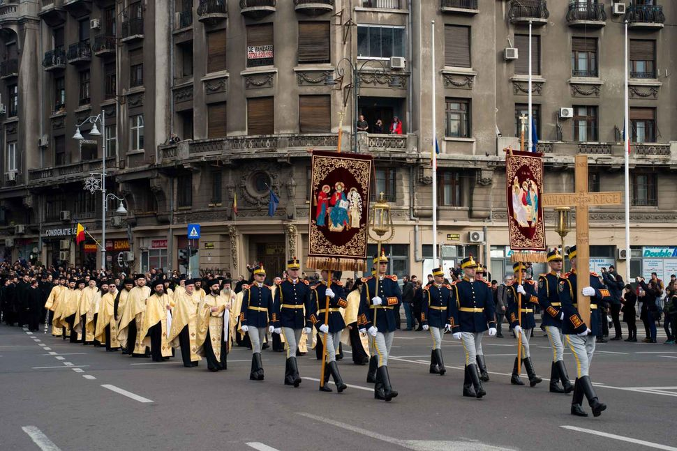 Funerals of King Michael of Romania, Bucharest 16.12.2017