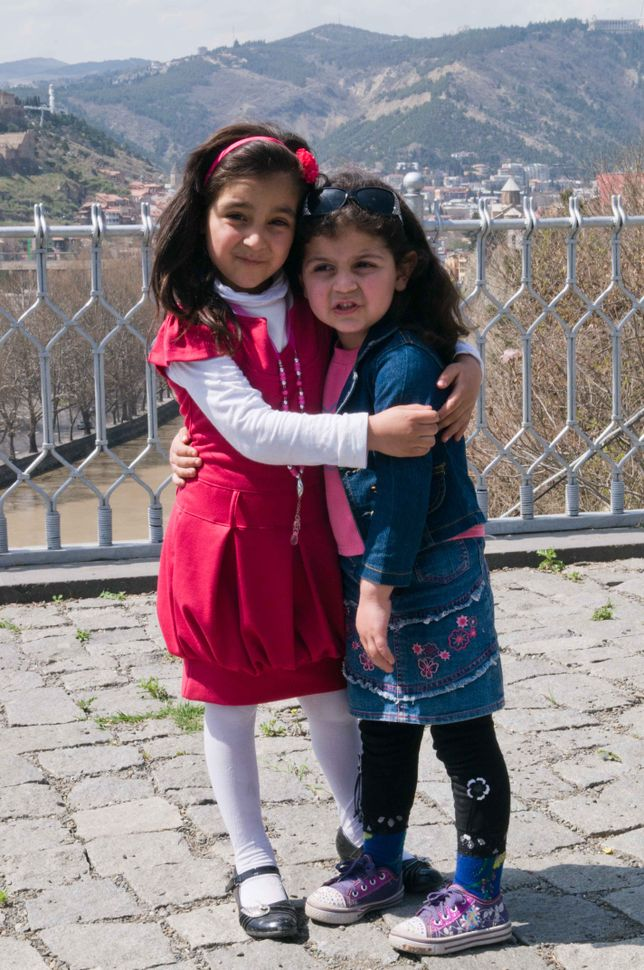Azeri girls in Tbilisi