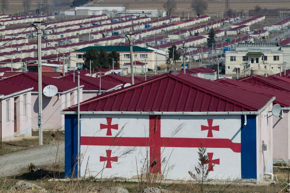 Camp for refugees from Ossetia 2
