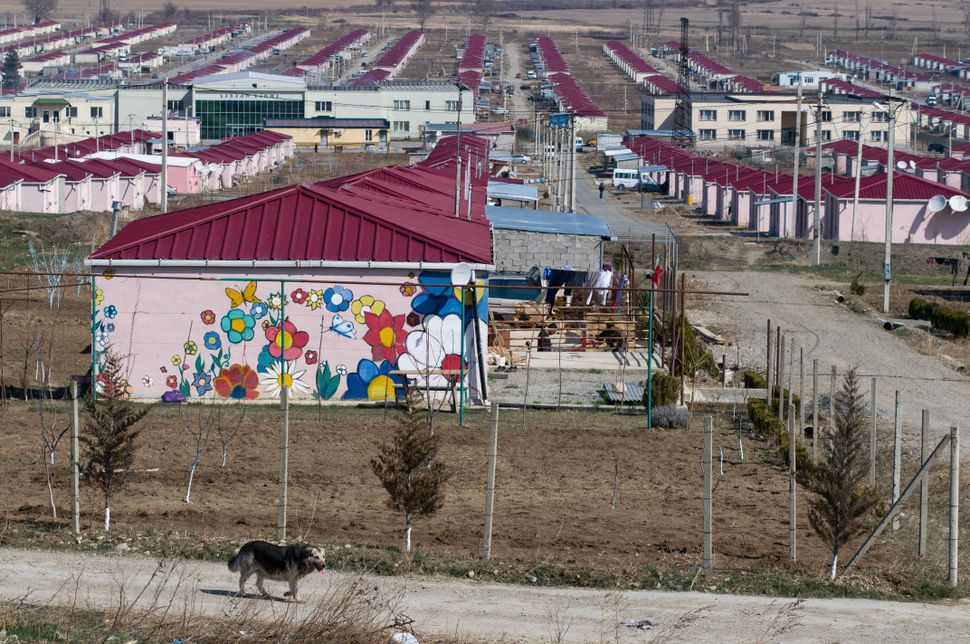 Camp for refugees from Ossetia 3