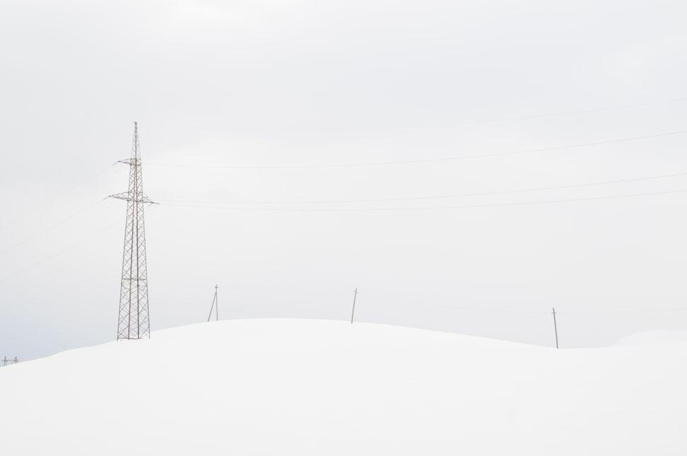 Gudauri minimalistic landscape