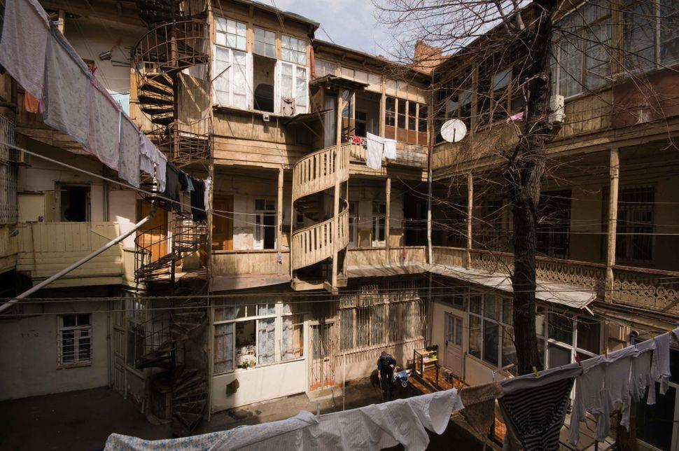 Inner courtyard, Tbilisi 2