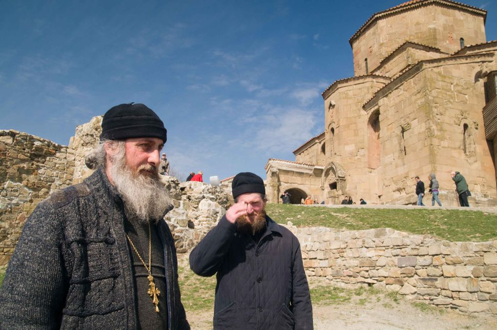 Orthodox priest at Mtskheta