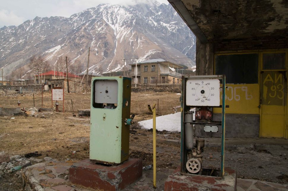 Petrol station near Kazbegi 2
