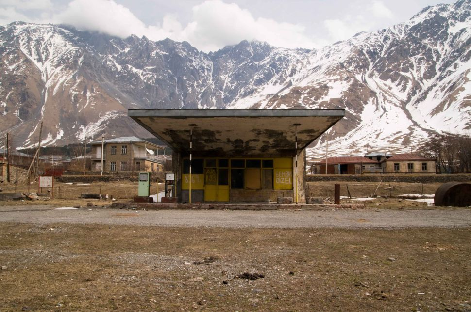 Petrol station near Kazbegi