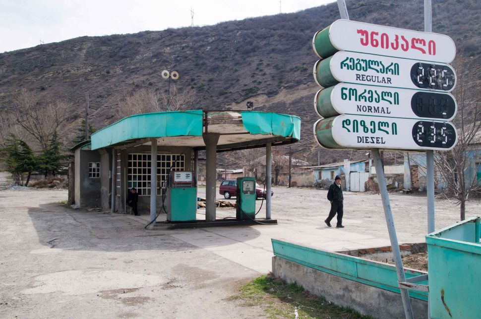 Petrol station outside Gori