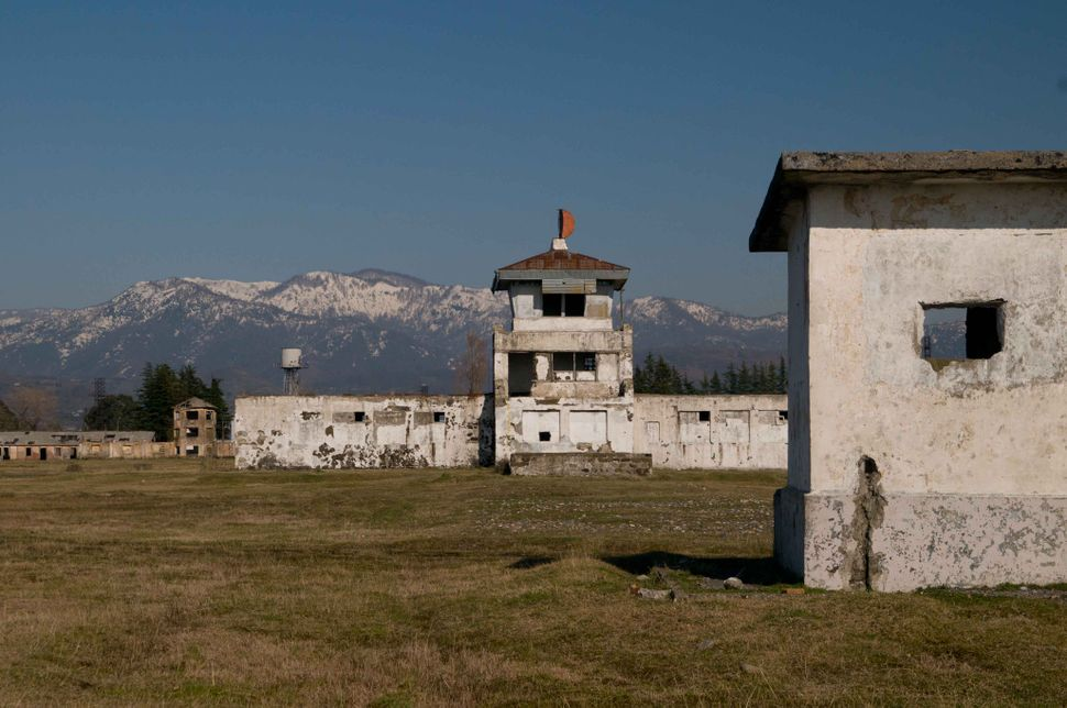 Russian firing range near Batumi