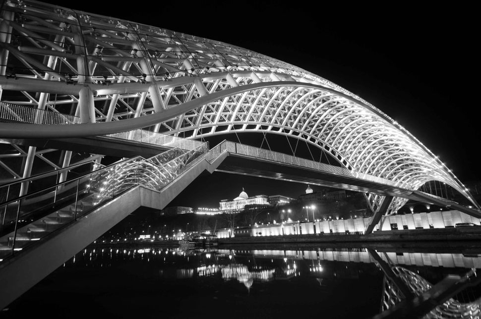 The bridge of peace, Tbilisi 2