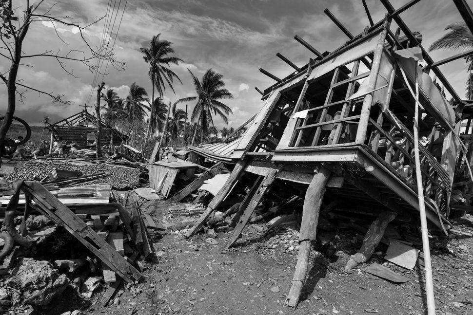 Broken down house near Boko City