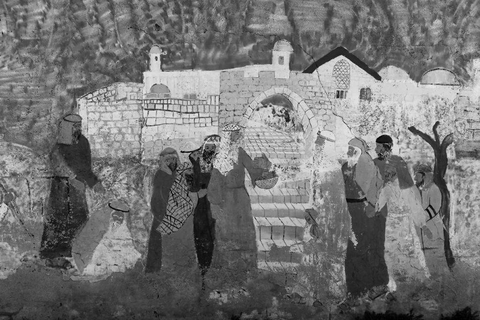 Jewish grafitti