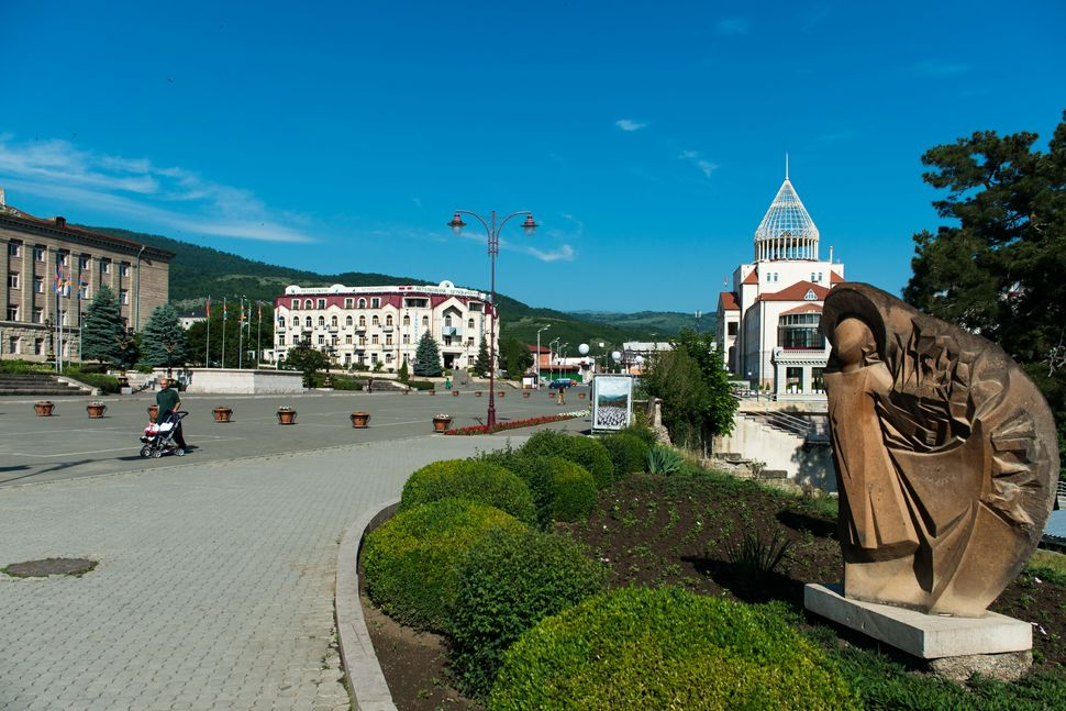 Stepanakert city centre