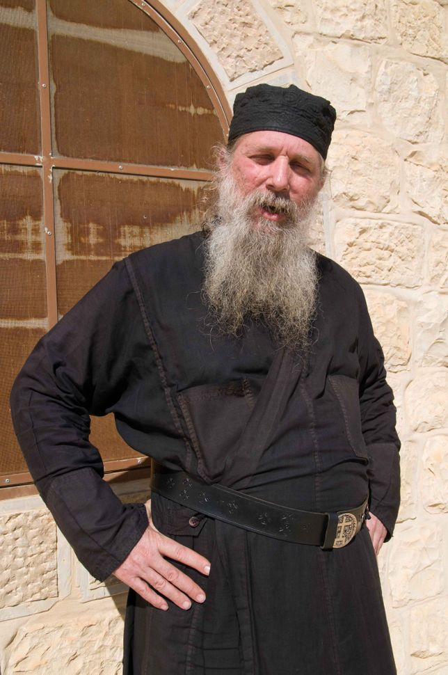 Father Lazarus of St. Savas (Mar Saba) monastery