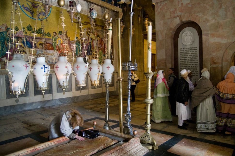 Gujarati Muslims in the Church of the Holy Sepulchre