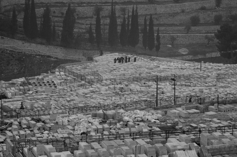Jewish cemetery on the Mount of Olives