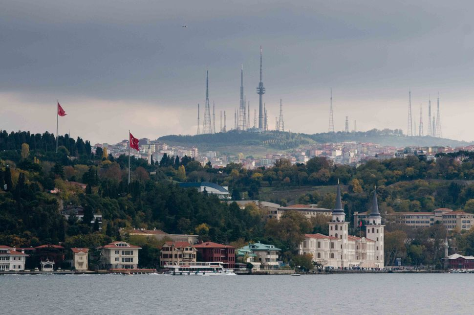 Asian side seen from a Bosporus boat
