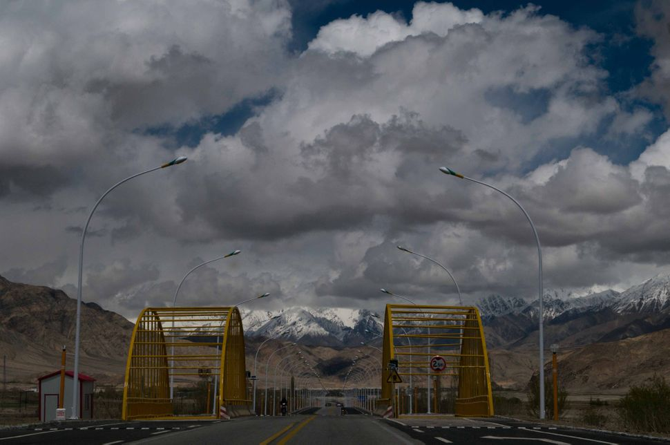 Storm clouds over Tashkurgan
