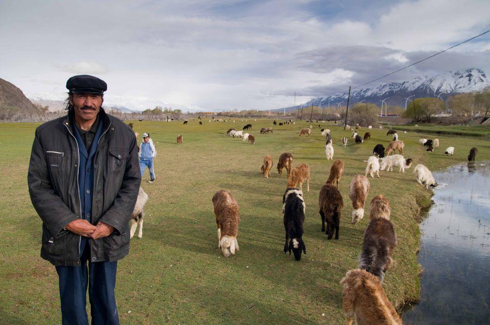 Tajik shepherd, Tashkurgan, 2