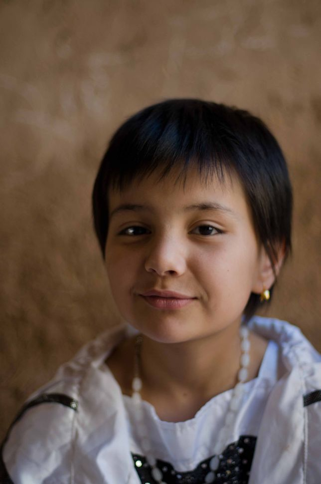 Young Uyghur girl 2